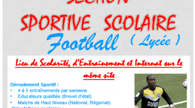section sportive lycee