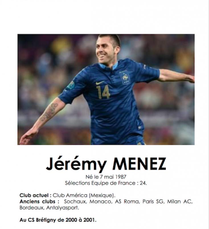 fb1a7c702b6 Jérémy Ménez Également Ble Football – Sherlockholmes Quimper